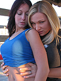 Cassie & Leia Show Off Their Bare Asses - Picture 9